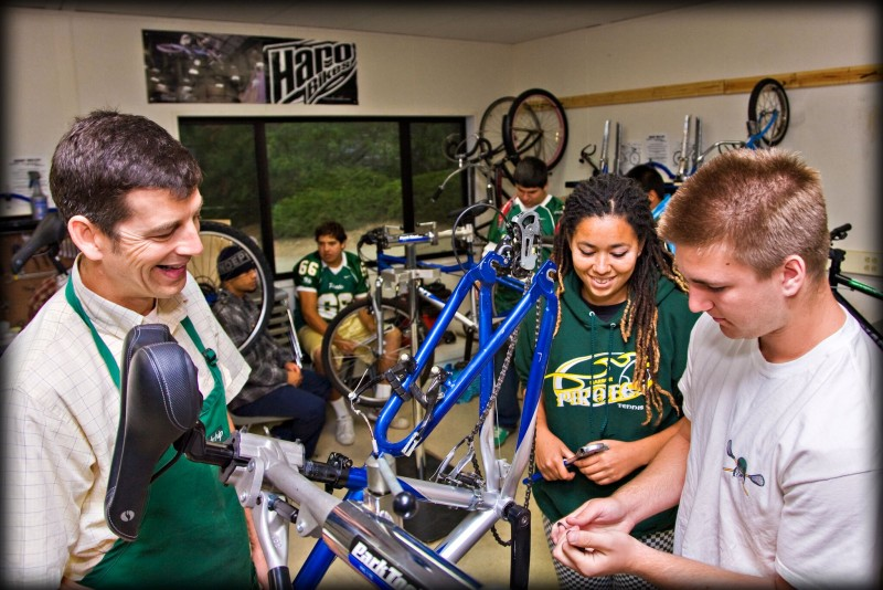 Project Bike Tech Educating Students for a Bike Mechanic Career